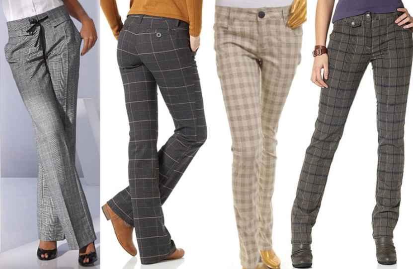 Женские брюки утепленные фото