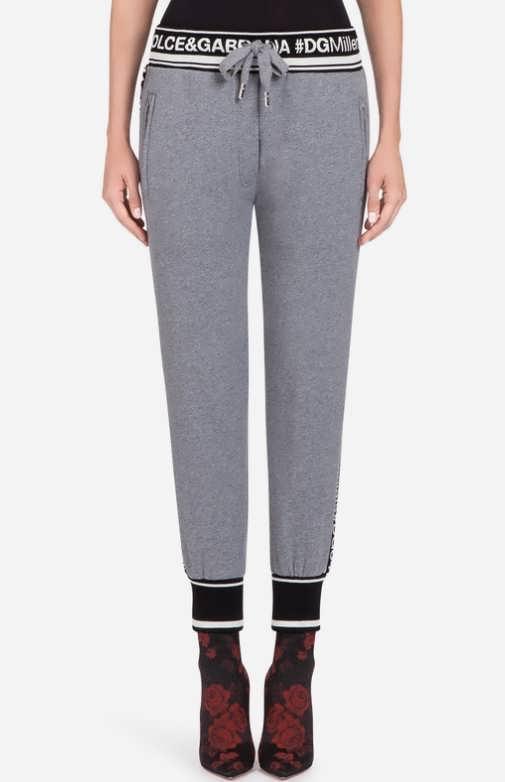 Женские брюки из джерси фото
