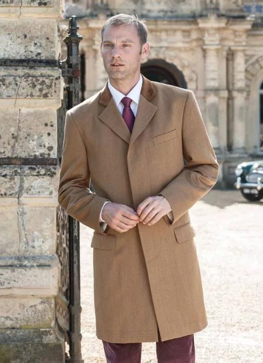 Пальто мужское коверт фото