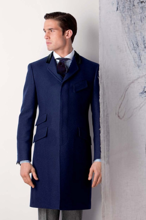 Пальто мужское честерфилд фото