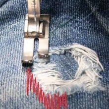 Подарите для одежды вторую жизнь ремонтом