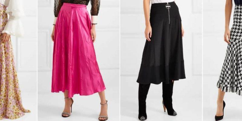 Пошив женской юбки на заказ и самостоятельно.